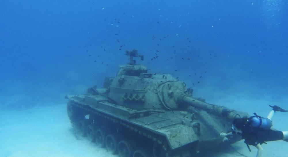 kaş batık tank